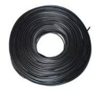 MTL 2x0,75 fekete Kettős szigetelésű lapos zsinórvezeték