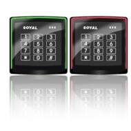 SOYAL AR-888K fekete Kártyaolvasó és kódbillentyűzet önálló vezérlőkhöz