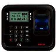 SOYAL AR-837EFiBi-1500-3DO-BX 3D optikai ujjlenyomat olvasó fekete 114110