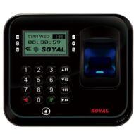 SOYAL AR-837EFiSi-1500-3DO-BX 3D optikai ujjlenyomat olvasó fekete 114118