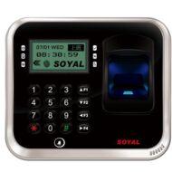 SOYAL AR-837EFiSi-1500-3DO-1X 3D optikai ujjlenyomat olvasó ezüst 114119