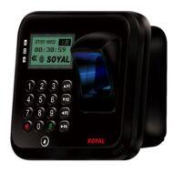 SOYAL AR-837EFD-1500-3DO-BR 3D optikai ujjlenyomat olvasó fekete 114124