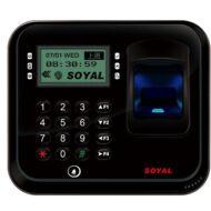 SOYAL AR-837EFD-1500-3DO-BX 3D optikai ujjlenyomat olvasó fekete 114126