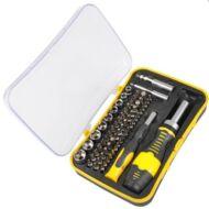 FIELDMANN FDS 1005-65R csavarkulcs készlet bitekkel 65 db-os FDS100565R