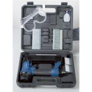Scheppach tűzőgép és szögbelövő készlet praktikus kofferban