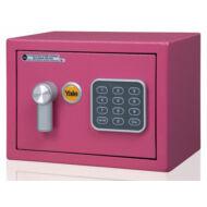Yale Value Mini kisméretű széf elektronikus zárral pink YSV/170/DB1/P