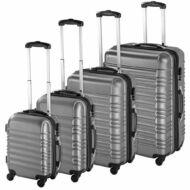 4 db-os merev falú bőrönd szett szürke HOP1000938-2