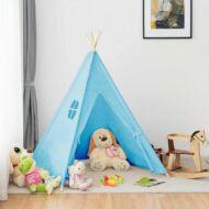 Indián sátor gyerekeknek kék HOP1000941-3