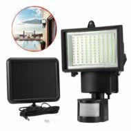 Mozgásérzékelős napelemes reflektor 60 LED HOP1000961-1