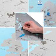 Európa kaparós térkép HOP1000729