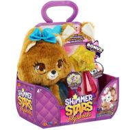 SHIMMER STARS plüss kutyus varázspálcával