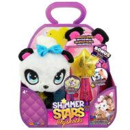 SHIMMER STARS plüss panda varázspálcával