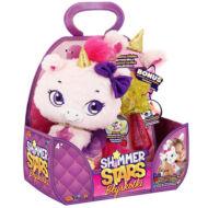 SHIMMER STARS plüss unikornis varázspálcával