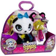SHIMMER STARS Deluxe plüss panda varázspálcával táskával