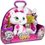 SHIMMER STARS Deluxe plüss cica varázspálcával táskával