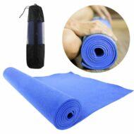 Jóga matrac ajándék táskával kék HOP1000972-2