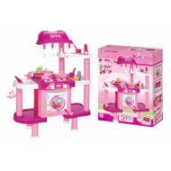 G21 Játék konyha tartozékokkal rózsaszín II 690679