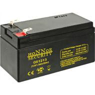 HONNOR 12V 1,3Ah zselés ólom akkumulátor 117950