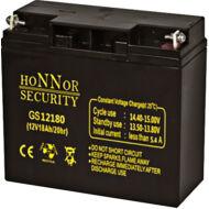 HONNOR 12V 18Ah zselés ólom akkumulátor 117948
