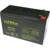 HONNOR 12V 7Ah zselés ólom akkumulátor 117928