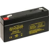 HONNOR 6V 3,2Ah zselés ólom akkumulátor 117953