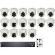 16 dome kamerás AHD CP PLUS megfigyelőrendszer 116861