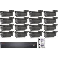 16 kamerás varifokális AHD CP PLUS megfigyelőrendszer 116864