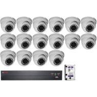 16 vari. dome kamerás HDCVI CP PLUS megfigyelőrendszer 116867
