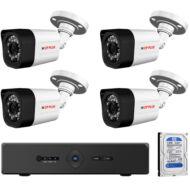 4 infrakamerás megfigyelőrendszer CP PLUS AHD 116478