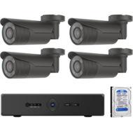 4 kamerás varifokális AHD CP PLUS megfigyelőrendszer 116862