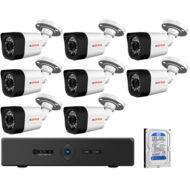 8 infrakamerás megfigyelőrendszer CP PLUS AHD 116477