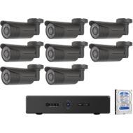 8 kamerás varifokális AHD megfigyelőrendszer CP PLUS rendszer 116863