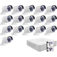 16 infrakamerás megfigyelőrendszer HIKVISION HDTVI 116615