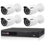 4 kamerás megfigyelőrendszer PROVISION HD szett 2MP 115439