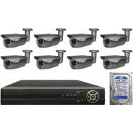8 infrakamerás megfigyelőrendszer SANAN AHD 114507