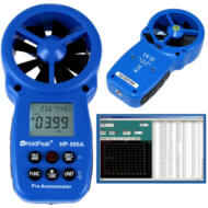 HOLDPEAK 866A Digitális szélerősség és hőmérsékletmérő 113282
