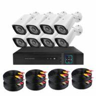 Vezetékes AHD kamerarendszer 8-kamerás HOP1001220