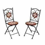 Mozaikmintás szék 2db HOP1001207