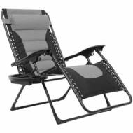 Delux Zéró gravitációs szék szürke HOP1001201-1