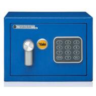 Yale Value Mini kisméretű széf elektronikus zárral kék YSV/170/DB1/B