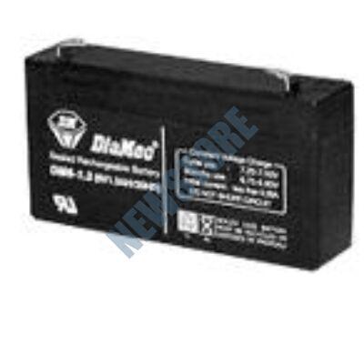 DIAMEC 6V 1.3Ah zselés ólom akkumulátor