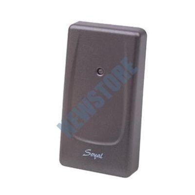 SOYAL AR-721UDW Kártyaolvasó hálózati központokhoz vagy önálló vezérlőkhöz szürke