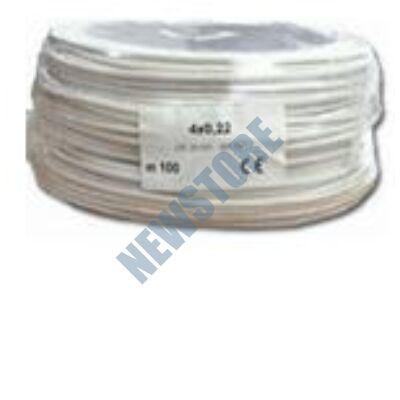 4x0.22 eres biztonságtechnikai kábel
