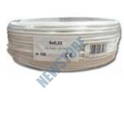 8x0.22 eres biztonságtechnikai kábel
