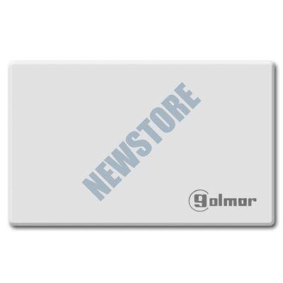 GOLMAR ISOPROX* Fényezett felületű ISO proximity kártya fehér