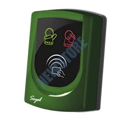 SOYAL AR-725UD Közelítőkártyás segédolvasó beléptetőrendszerekhez zöld