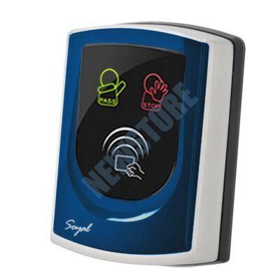 SOYAL AR-725UDM Kártyaolvasó hálózati központokhoz vagy önálló vezérlőkhöz kék