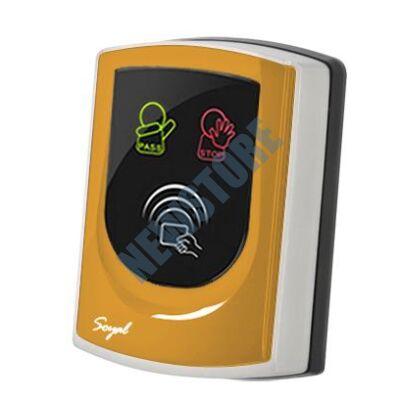 SOYAL AR-725UDM Kártyaolvasó hálózati központokhoz vagy önálló vezérlőkhöz narancs