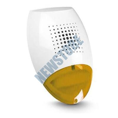 SATEL SP500 O Kültéri piezzo hang-és fényjelző sárga
