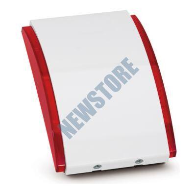 SATEL ASP205 R ABAX rádiós beltéri hang-fényjelző piros